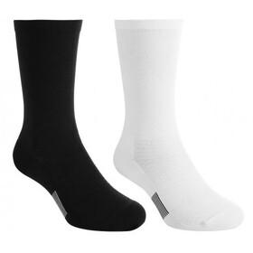 asics Crew Technical Socks 2-Pack performance black/white